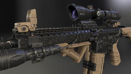 高清装备渲染图:M4战术武器