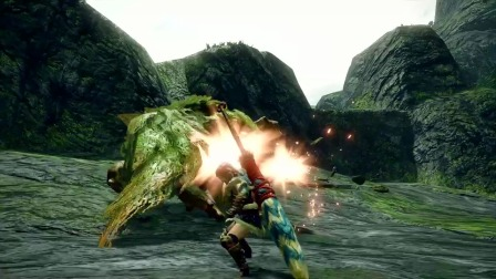 【游民星空】《怪物猎人:崛起》演示