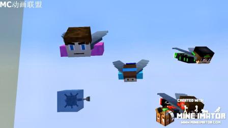 我的世界动画-鞘翅飞行比赛-Jakestin M