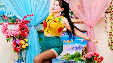 琼花舞魅:原创即兴清跳秀:美丽的草原我的家音乐版