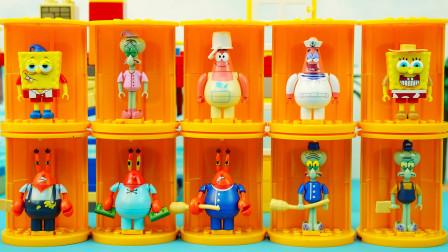 海绵宝宝盲盒玩具:一次拆开12个海绵宝宝最新款盲盒