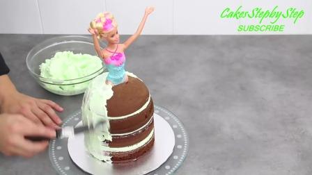 公主娃娃蛋糕装饰-教程