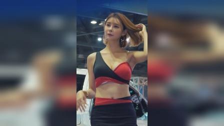 汽车车展 : 韩国气质美女模特