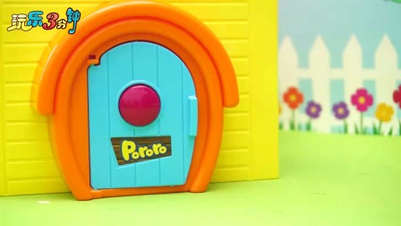 小企鹅啵乐乐的树屋游乐场玩具