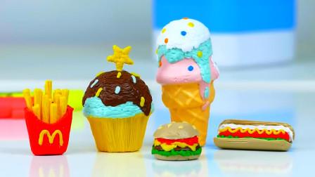"""牛人用3D打印自制""""汉堡套餐"""",成品一出,令人眼前一亮!"""