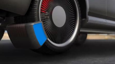"""给汽车轮胎安上这""""夹子"""",就可以减少污染,获设计大奖"""