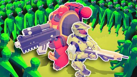 全面战争模拟器299:超级僵尸怪物全军覆没,被如来神掌完美压制