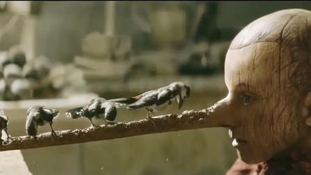 奇幻片:木偶人一说谎,鼻子就会变长,最后只能请啄木鸟来啃掉