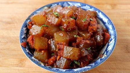 教你正宗的红薯凉粉做法,淀粉和水的比例告诉你,劲道又好吃