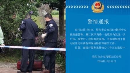 网传四川资阳一行李箱内发现尸体 :正查找尸源侦办