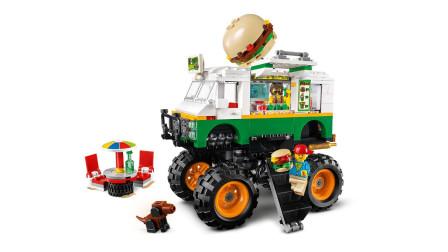 乐高积木:创意百变系列31104巨轮汉堡车