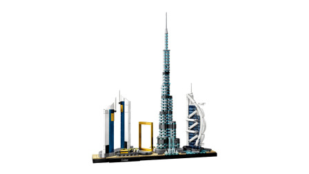 乐高积木:建筑系列21052迪拜天际线