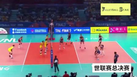 状态火爆!年轻的中国女排迸发青春的力量力克世界强度!
