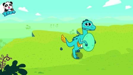 宝宝巴士:拯救恐龙蛋,救援队危急时刻显身手!