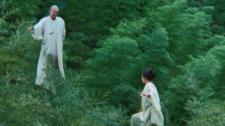 卧虎藏龙:经典镜头!章子怡跟发哥竹林对打!