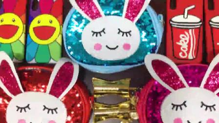冰淇淋雪糕、菠萝、小兔子、小熊五角星水晶泥亮粉小装饰,史莱姆