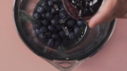有货真价实果肉的蓝莓酸奶冰淇淋