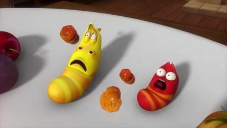 《爆笑虫子》跟变色龙斗智斗勇的两兄弟