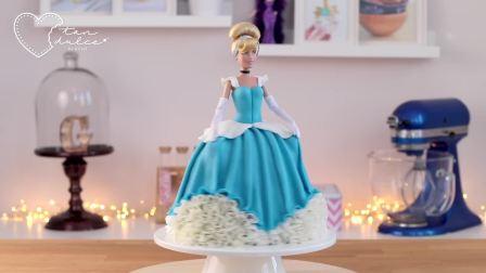 国外少儿时尚,白雪公主蛋糕制作,一起去玩吧