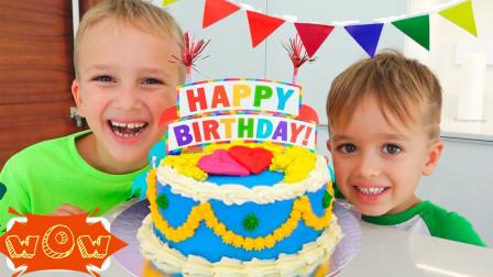 萌宝亲子故事:好有爱!小正太兄弟俩给妈妈准备了什么生日惊喜?