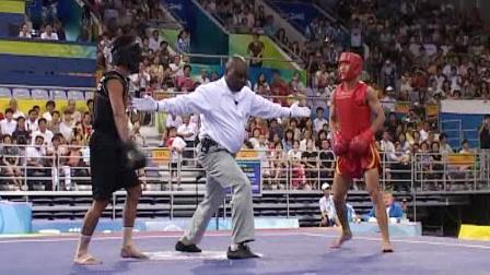 北京2008武术散打比赛 男子项目 02 单元 001