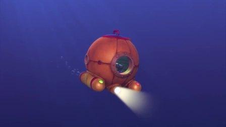 汪汪队:阿宝船长打开了潜水钟的扩音装置听到了天天说的话