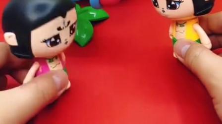 葫芦娃的西瓜球不见了,他找大家看看,仙人掌大炮的是什么?