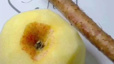 苹果山药蒸糕,面包一样松软