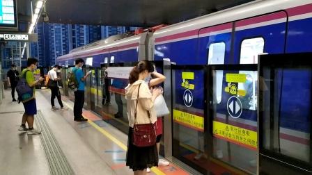 【广州地铁】广州地铁6号线L6型增购列车06X121-122沙贝站进站