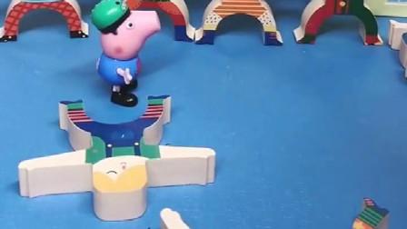 僵尸抢走了乔治的游戏机,乔治找来猪爸爸,谁知猪爸爸认怂了