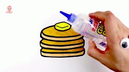 美味甜点纸杯蛋糕玩具绘画