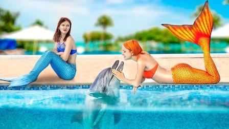 好美人鱼vs坏美人鱼,有趣的小故事