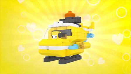 美少女机器人变身直升机,这也太可爱了