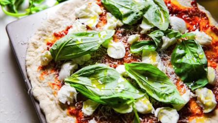 舌尖上的美食:高级Margarita玛格丽特披萨饼,最简单的做法也是最经典的!