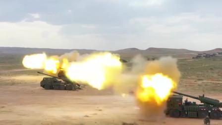 解放军新型车载加榴炮射击画面曝光:炮弹破膛而出目标瞬间炸裂!