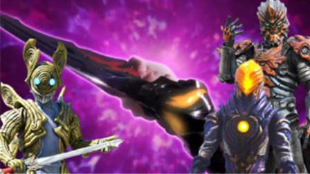 泽塔奥特曼:最强形态德尔塔天爪威力巨大,怪兽boss也要吃瘪!