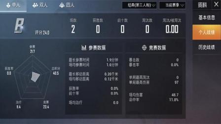 """和平精英:玩家穿海上花打了2局游戏,却收到光子的""""特等奖""""!"""