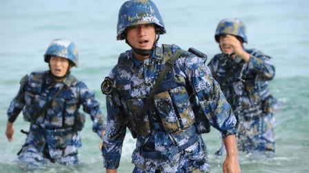 美国海军陆战队被戏称四等人,中国的海军陆战队可都是宝贝疙瘩