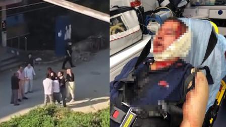 上海市两名小学生上学小矛盾,直接引发爸爸约架,一人头被敲破!
