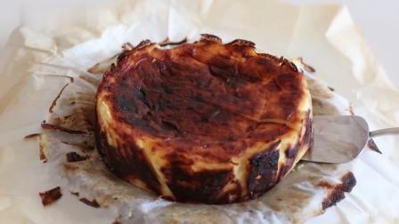 """西班牙风格""""巴斯克""""烧焦芝士蛋糕"""