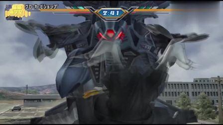 奥特曼格斗进化,葛洛卡主教对怪兽杰顿使用近距离的光弹攻击