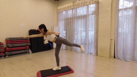 3分钟动态训练,瘦大腿赘肉,锻炼核心和稳定性