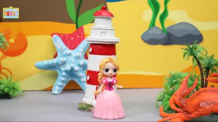 一起来玩寻找迪士尼公主的游戏,长发公主藏在哪里?