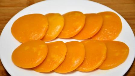 南瓜饼最好吃的做法,不用面粉不加水,柔软好消化,天天吃都不腻