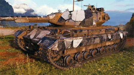 坦克世界神操作:版本的正确答案!超征无压力输出1W3伤害!