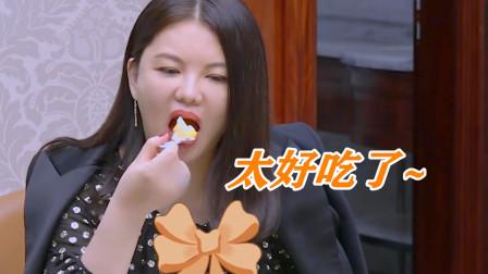 李湘躲房间吃蛋糕,王岳伦全程目睹,太搞笑