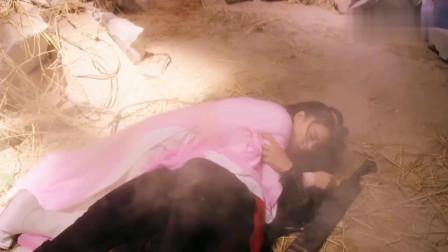 新边城浪子:朱一龙为救张馨予,跟着一起跳崖了,一对苦命鸳鸯掉落崖底。