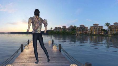 好听的网络歌曲《别知己》来个背面版演示 赤脚跳舞自由自在