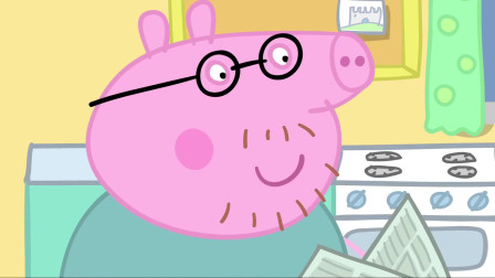 小猪佩奇:佩奇真厉害,教会了小宝宝说话,太棒了!