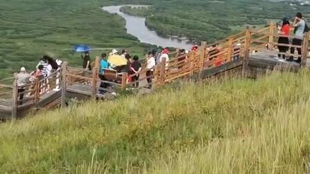 吉普大队自驾呼伦贝尔大草原额尔古纳湿地视频